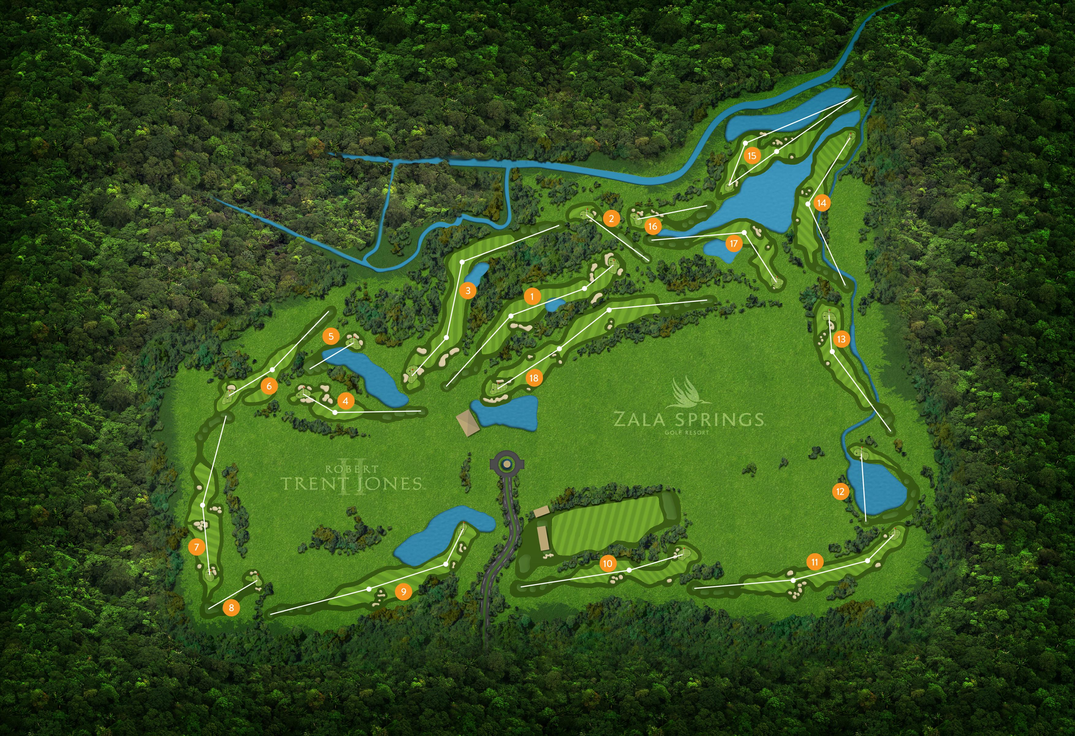 Klára borgun, Zala Springs golfferð Image